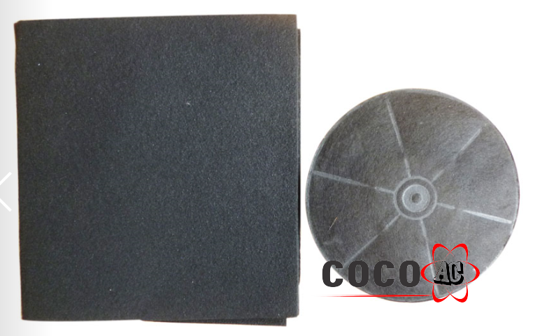 Tấm lọc than hoạt tính bếp kích thước 45 cm x 50 cm