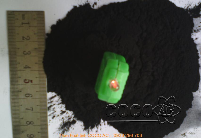 Than hoạt tính bột được sử dụng ở nhiều ngành công nghiệp khác nhau